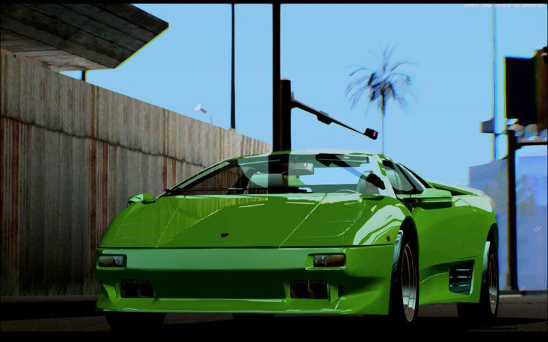 GTA San Andreas Lamborghini Diablo VTTT Black Revel Mod