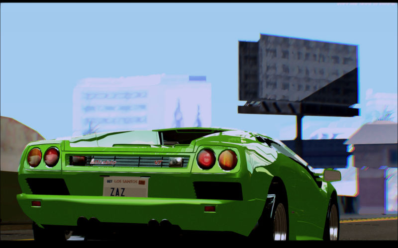 Gta San Andreas Lamborghini Diablo Vttt Black Revel Mod Gtainside Com