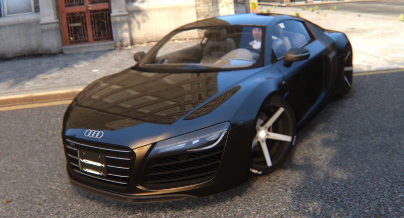 Gta 4 2013 Audi R8 V10 Plus Vossen Cv3 Wheels Mod Gtainside