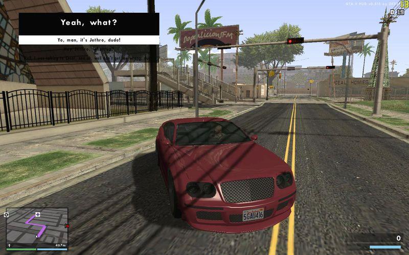 GTA San Andreas GTA V ENB V3 Mod - GTAinside com