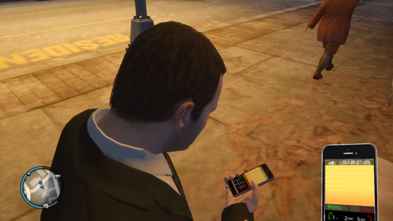 GTA 4 IPhone 6 Space Grey For GTA IV Mod