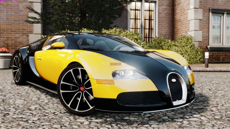 gta 4 bugatti veyron 16 4 v1 mod. Black Bedroom Furniture Sets. Home Design Ideas
