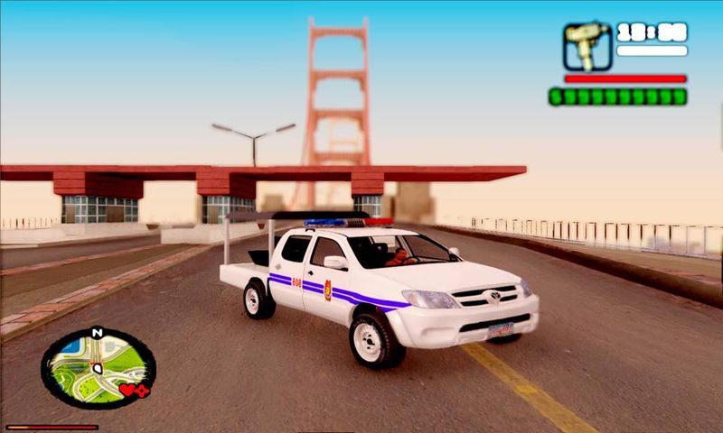 Gta San Andreas 2010 Toyota Hilux Philippine Police Car Updated