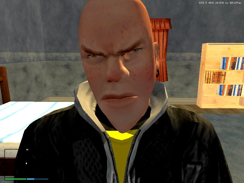gta san andreas jimmy hopkins face for luis lopez mod
