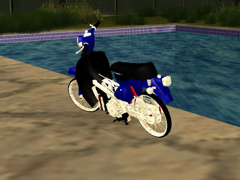 GTA San Andreas Honda Super Cup Modif Mod