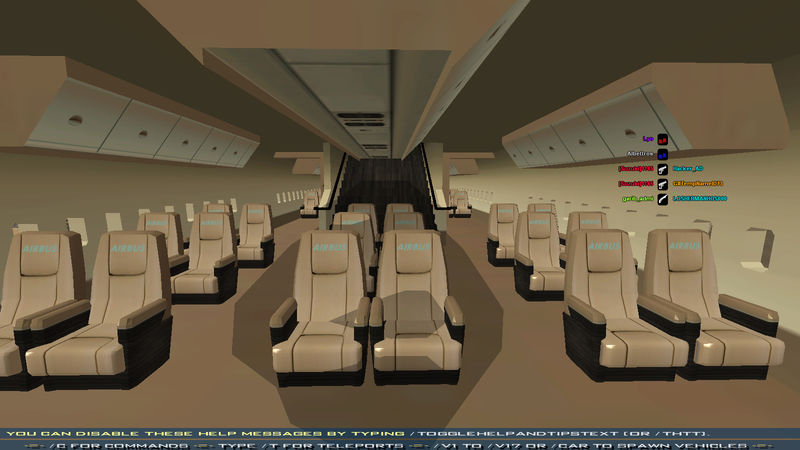Gta San Andreas Airbus A380 With Full Interior Mod