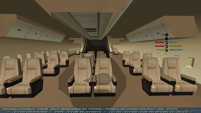 Gta san andreas airbus a380 with full interior mod for Gta sa plane interior mod