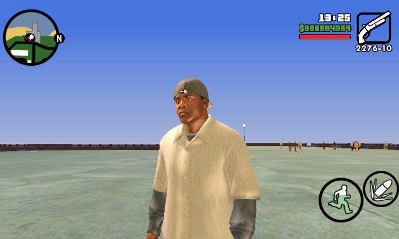 GTA San Andreas Franklin Player img for Mobile Mod - GTAinside com