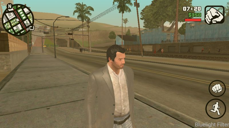 скачать скин майкл для Gta San Andreas - фото 2