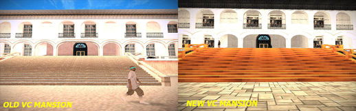VC Mansion Texture and HD Grass