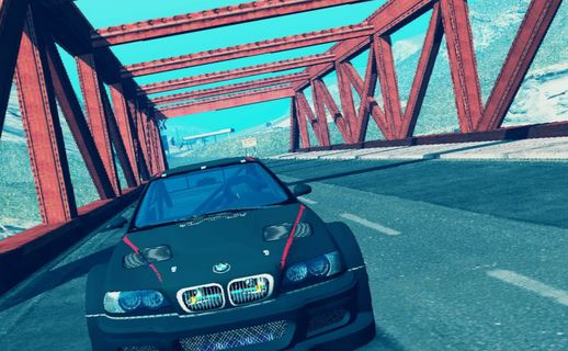 BMW M3 GTR from NFSMW Android + Engine Sound