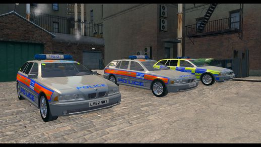Met Police BMW 5 Series E39 Touring Pack