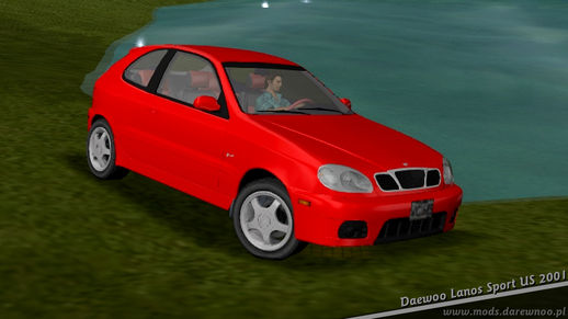 2001 Daewoo Lanos Sport US (VC only)