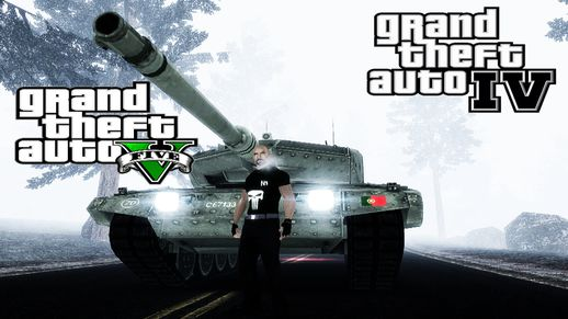 EU & PT Tank Leopard Texture Pack + Sounds