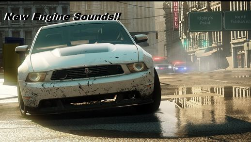 NFS:MW12 Engine sound Pack 9 in 1 (New)