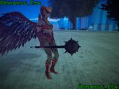 Hawkgirl Mace From Injustice God Among Us