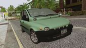 Fiat Multipla Black Bumpers