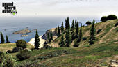 GTA 5 Tataviam-Bergkette Seascape Wallpaper
