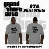 GTA Shirt White