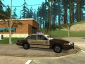 RCSD Ford Crown Vic 1994