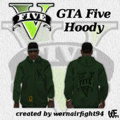 GTA Five Hoody