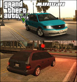 GTA V Vapid Minivan
