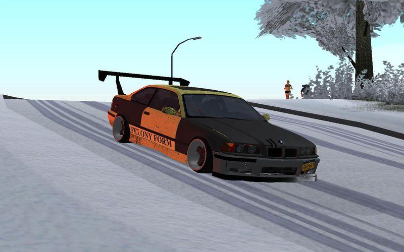 GTA San Andreas BMW e36 Felony Form Mod - GTAinside.com