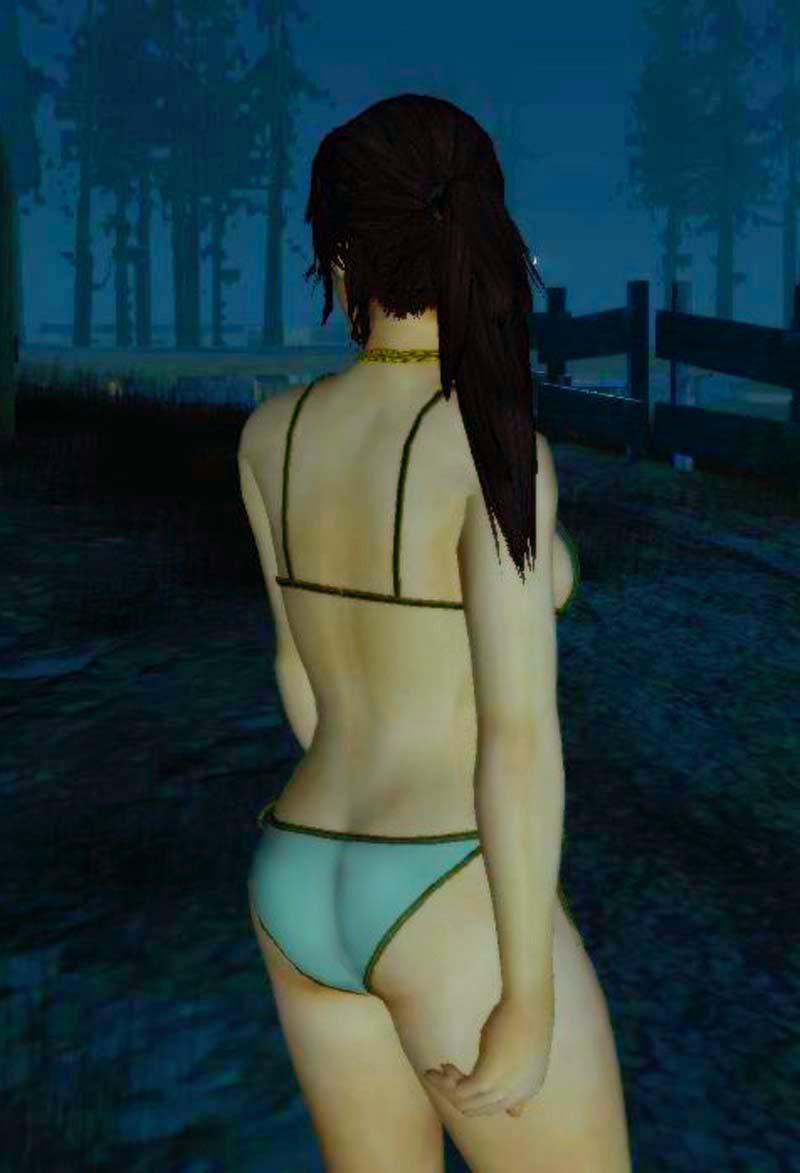 Gta San Andreas Green Bikini Mod Gtainside Com