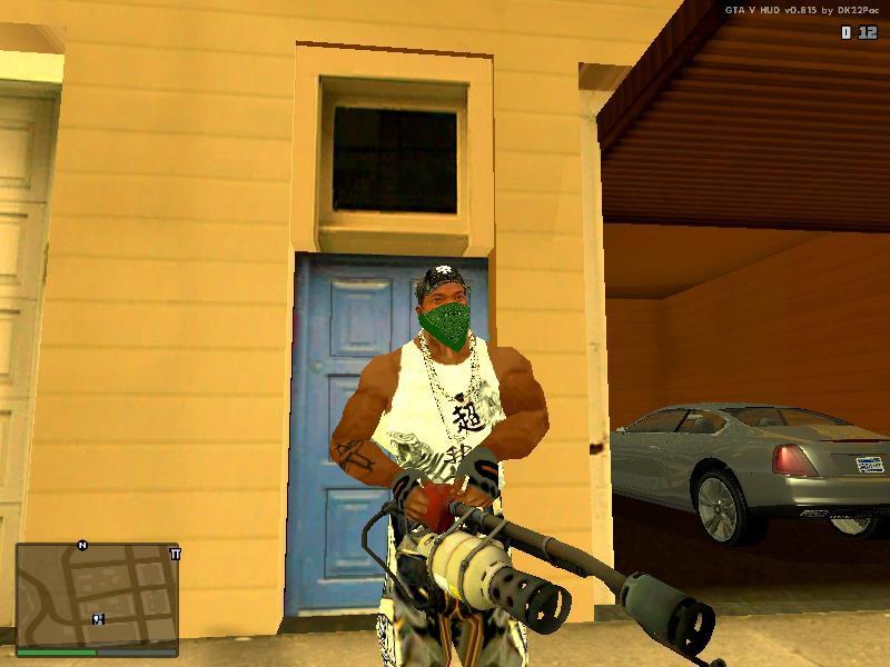 GTA San Andreas TF2 Flamethrower Mod - GTAinside com