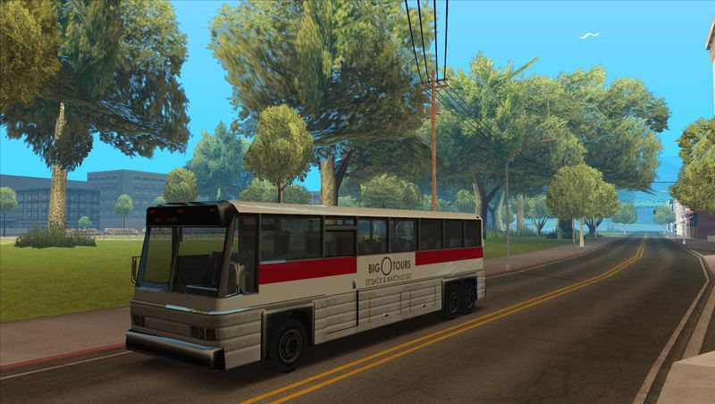 gta san andreas coach with 3d interior mod. Black Bedroom Furniture Sets. Home Design Ideas