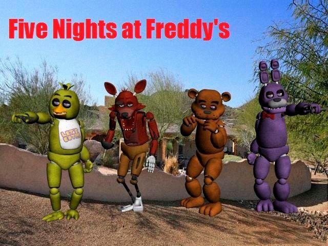 GTA San Andreas Five Nights At Freddy's Skin Pack Mod