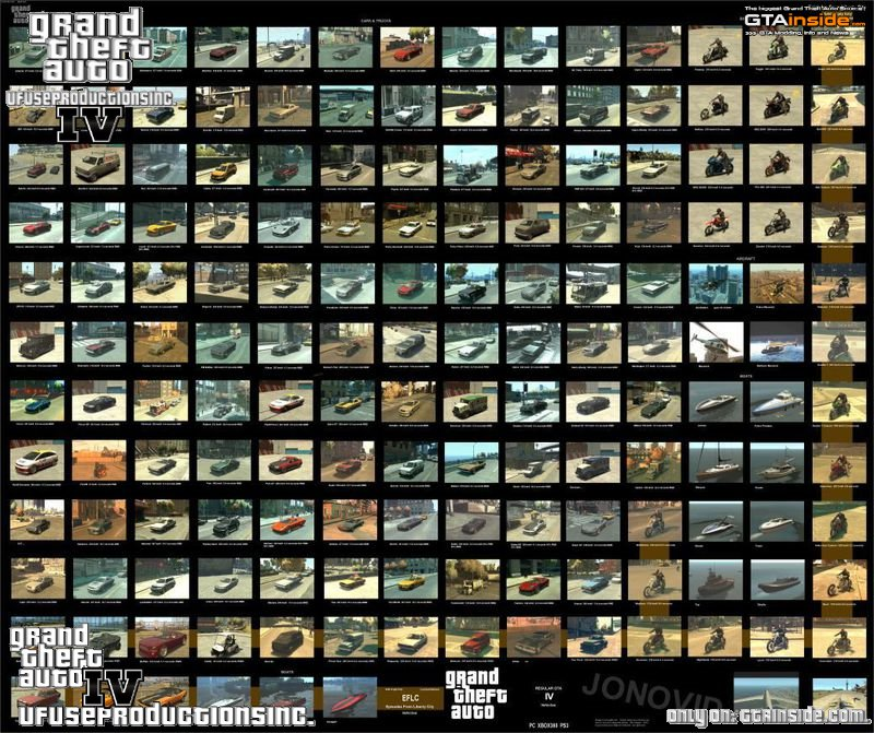GTA 4 Vehicles.img (For Backup) Mod