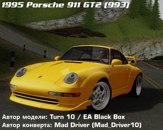 gta san andreas porsche 911 gt2 993 1995 mod. Black Bedroom Furniture Sets. Home Design Ideas
