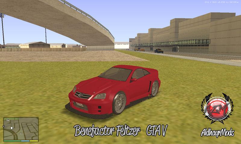 GTA San Andreas Benefactor Feltzer GTA V Mod - GTAinside com
