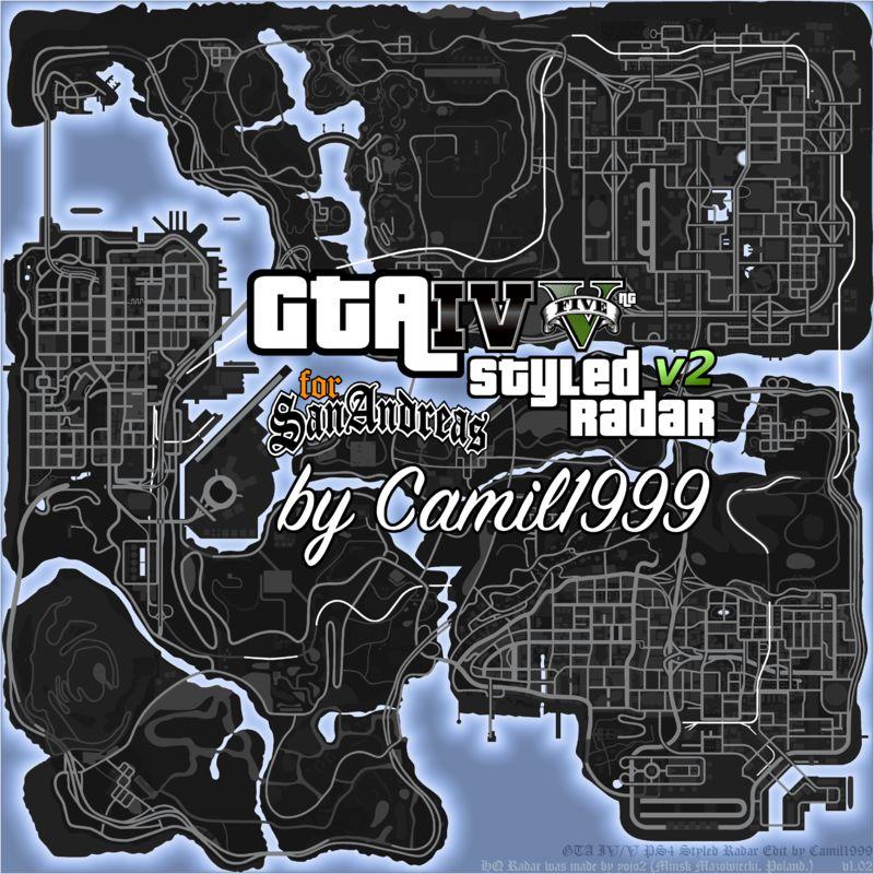 Gta San Andreas Gta Iv V Styled Radar Mod Gtainside Com