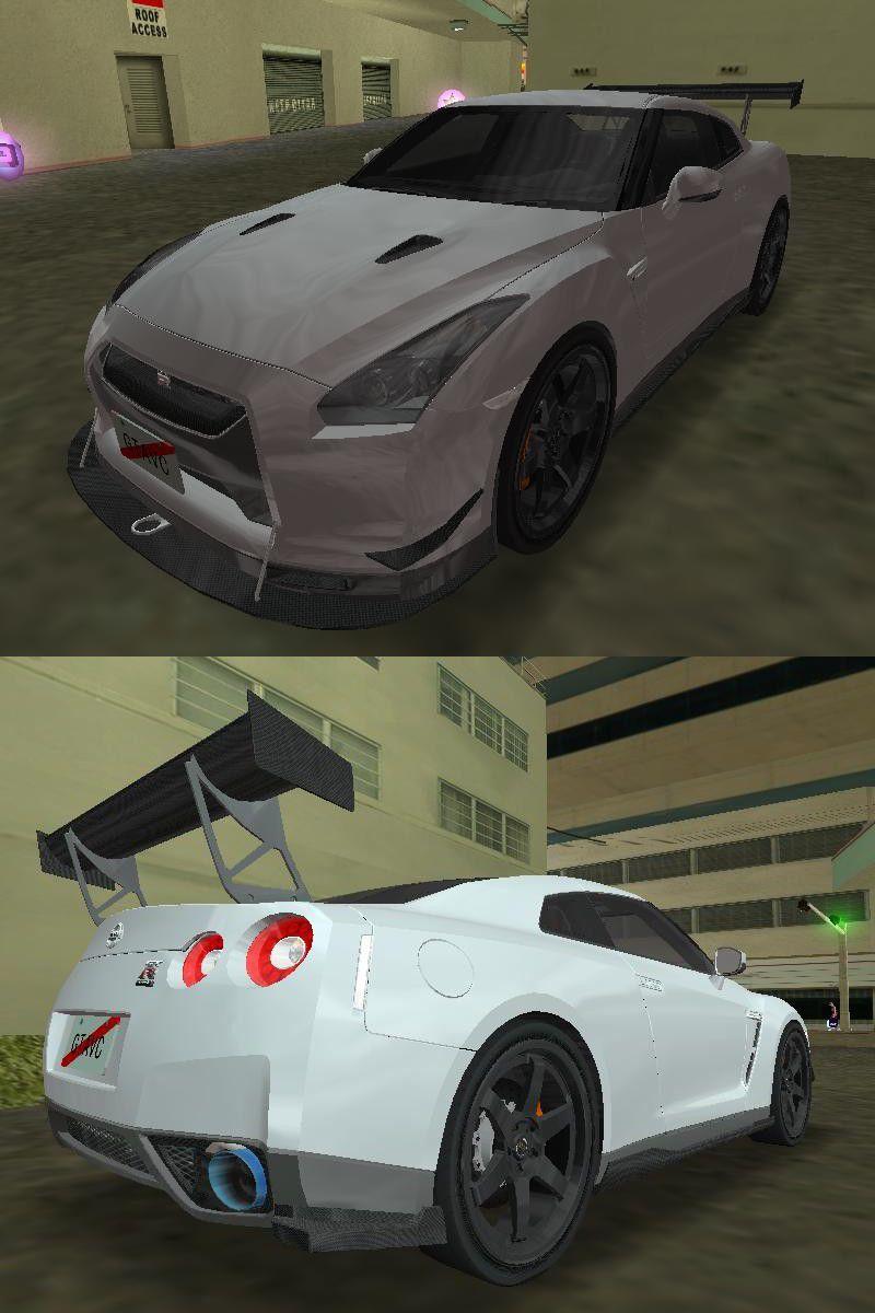 Gta 3 Nissan Gt R R35 Spec V Mod