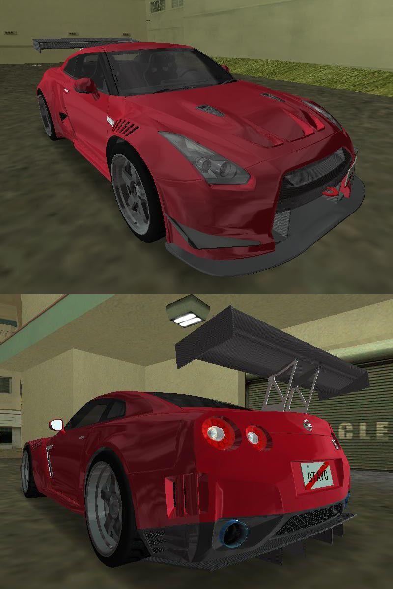 GTA 3 NISSAN GT-R R35 SPEC V Mod