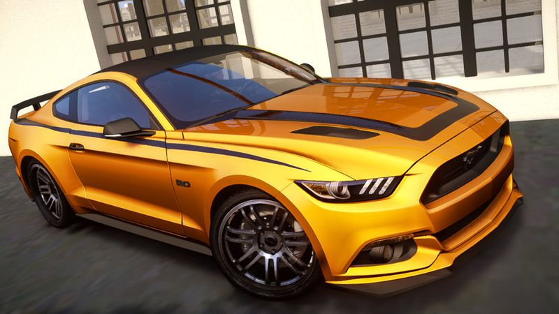 ... 2015 Ford Mustang GT Custom Kit  F