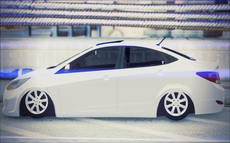 GTA San Andreas Hyundai Accent Blue Mod  GTAinsidecom