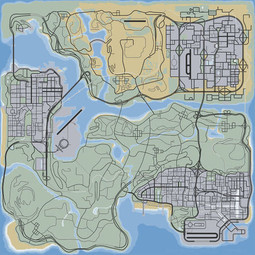 GTA V Overview Map