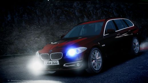 Unmarked 2014 Facelift BMW 525D F11