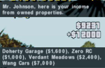 GTA V Property Income V1