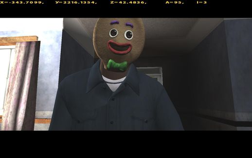 GTA V Gingerbread Mask