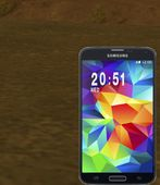 Galaxy S5 Time Position