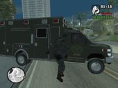 SANG Tactical Rescue Ford E450 Ambulance