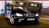 Mercedes-Benz C32 AMG Police