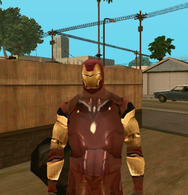 GTA San Andreas Ironman v1 for Android Mod - GTAinside com