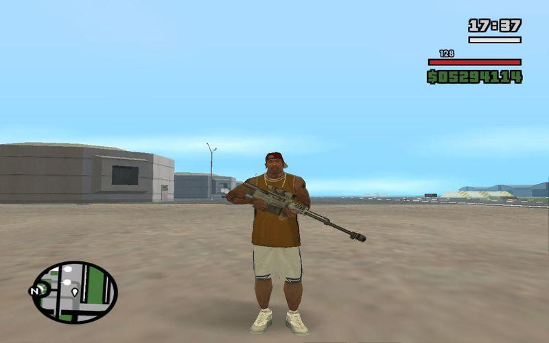 GTA San Andreas Accuracy International AS50  50 BMG Mod - GTAinside com