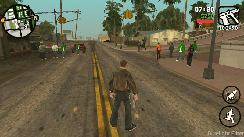 GTA San Andreas Max Peds Traffic for Android Mod - GTAinside com