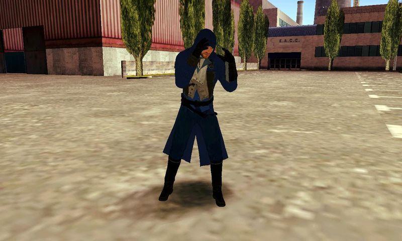 GTA San Andreas Arno Dorian - Assassins Creed Unity Mod